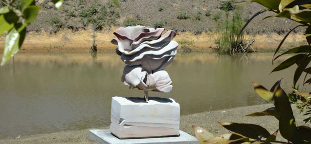 The Rose sculpture by Antone Bruinsma