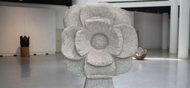 Seeing the Beauty in You - granite sculpture by Antone Bruinsma - Shanghai Sculpture Park and Gallery