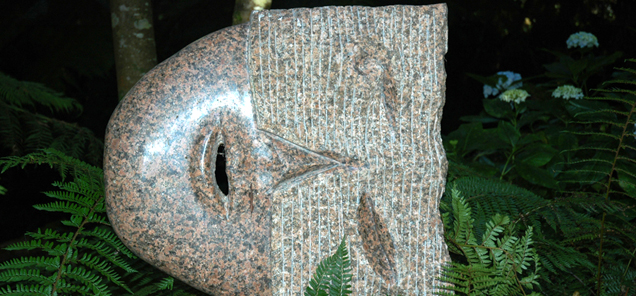 Insight - granite sculpture by Antone Bruinsma